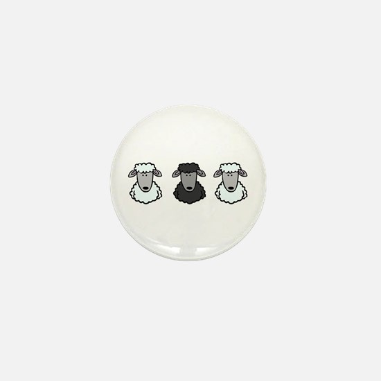 Black Sheep Of the Family Mini Button