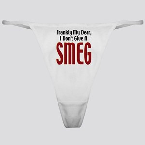 Don't Give A Smeg Classic Thong