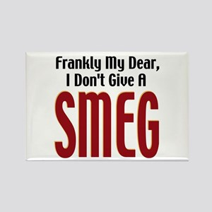 Don't Give A Smeg Rectangle Magnet