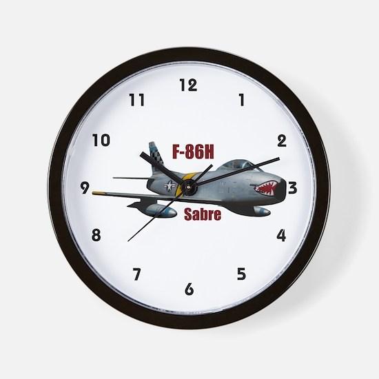 F-86H Sabre 2 Wall Clock