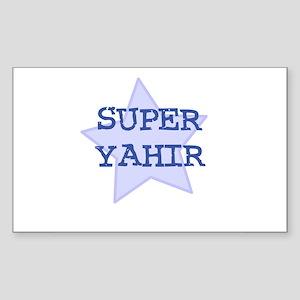 Super Yahir Rectangle Sticker