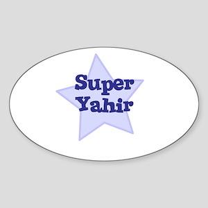 Super Yahir Oval Sticker