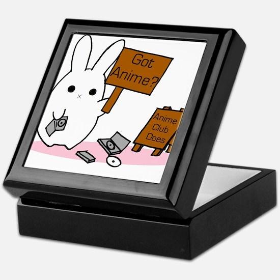 Unique Bunny rabbit Keepsake Box