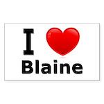 I Love Blaine Rectangle Sticker 50 pk)