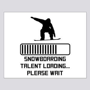 Snowboarding Talent Loading Posters