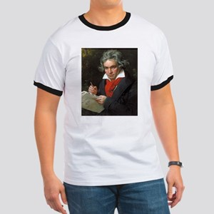 Vintage portrait of composer, Ludwig von B T-Shirt