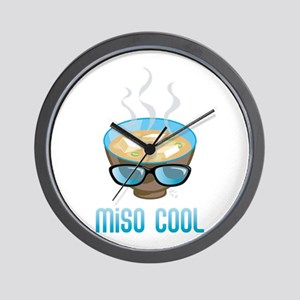 Miso Cool Wall Clock