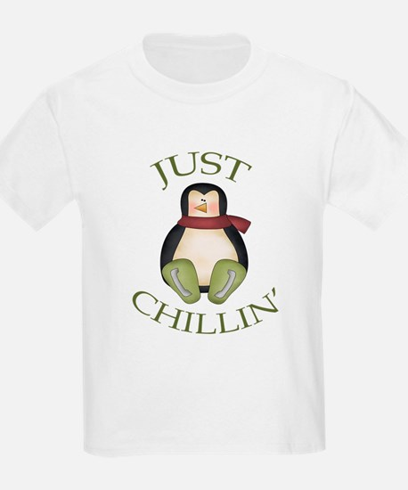 Just Chillin' Penguin T-Shirt