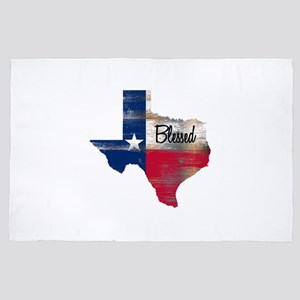 Blessed Texan 4' x 6' Rug