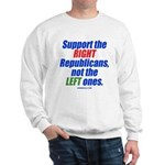 Support the Right Sweatshirt