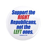 "Support the Right 3.5"" Button (100 pack)"