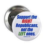 "Support the Right 2.25"" Button (100 pack)"
