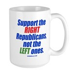 Support the Right Large Mug