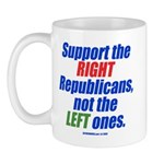Support the Right Mug