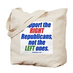 Support the Right Tote Bag