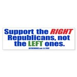 Support the Right -- Bumper Sticker