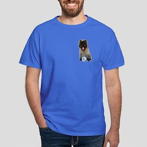 Cairn Terrier Football Scotland Dark T-Shirt
