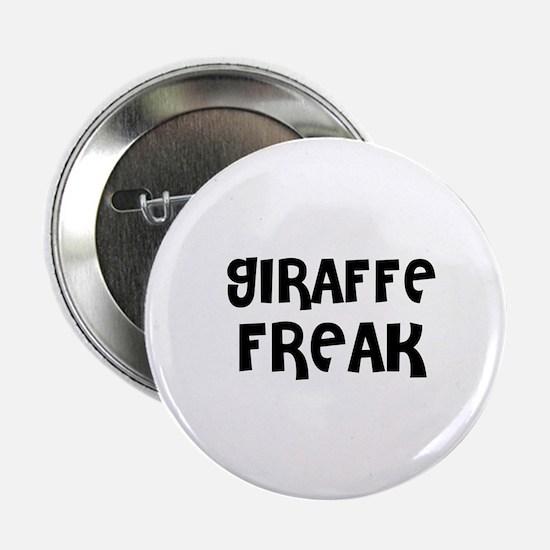 """GIRAFFE FREAK 2.25"""" Button (10 pack)"""