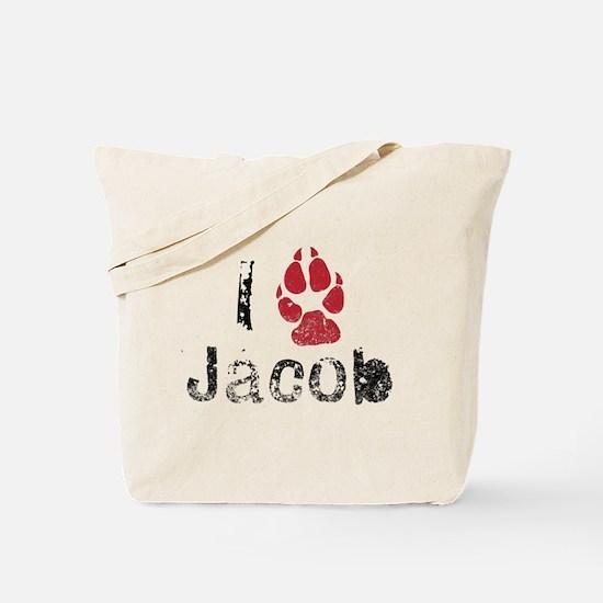 I Paw Jacob Tote Bag