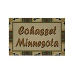 Cohasset Minnesota Loon Rectangle Magnet (100 pack