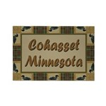 Cohasset Minnesota Loon Rectangle Magnet