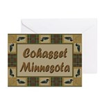 Cohasset Minnesota Loon Greeting Cards (Pk of 10)