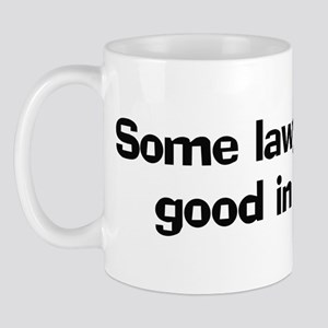 Some lawyers look good Mug