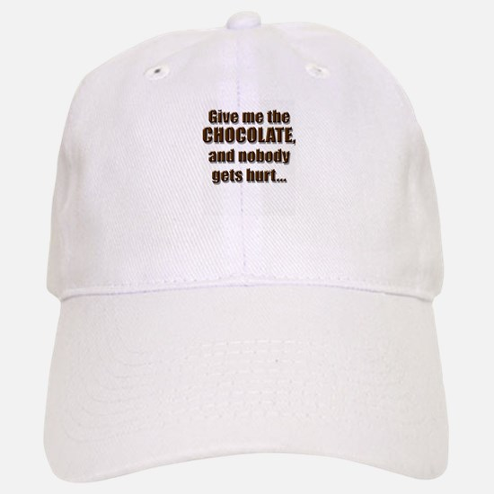 Chocolatey Threat - Baseball Baseball Cap