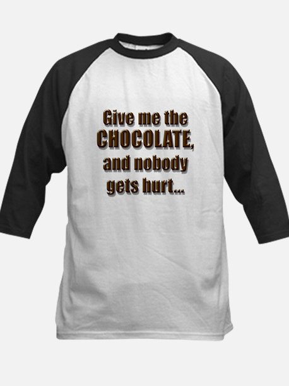Chocolatey Threat - Kids Baseball Jersey