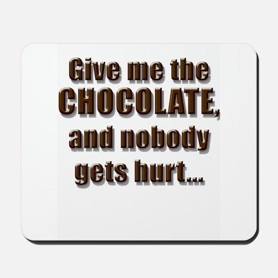 Chocolatey Threat - Mousepad