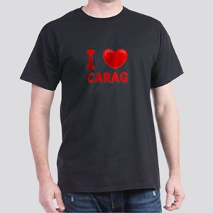 I Love CARAG Dark T-Shirt