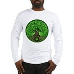 Circle Celtic Tree of Life Long Sleeve T-Shirt