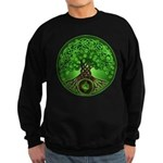 Circle Celtic Tree of Life Sweatshirt (dark)