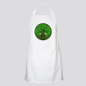 Circle Celtic Tree of Life BBQ Apron