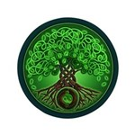 Circle Celtic Tree of Life 3.5