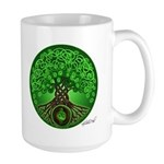 Circle Celtic Tree of Life Large Mug