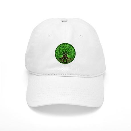 Circle Celtic Tree of Life Cap
