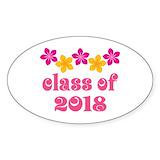 2018 graduation Stickers & Flair