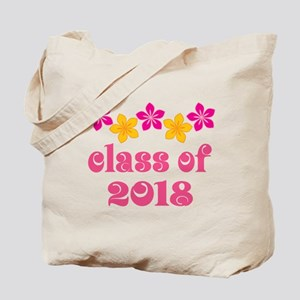 Floral School Class 2018 Tote Bag