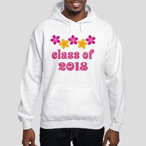 Floral School Class 2018 Hooded Sweatshirt