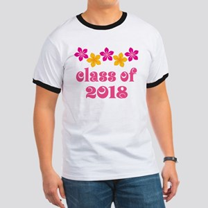 Floral School Class 2018 Ringer T