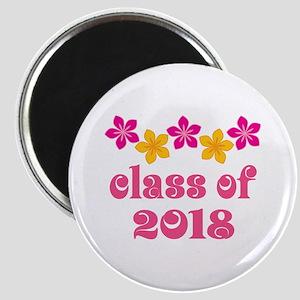 Floral School Class 2018 Magnet