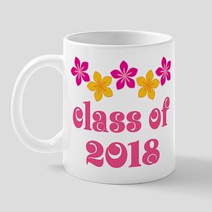 Floral School Class 2018 Mug