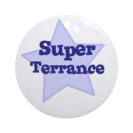 Super Terrance Ornament (Round)