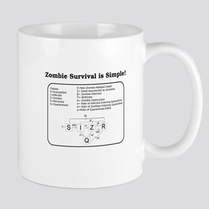"""Zombie Mathematical Model"" Mug"