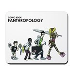 Comic Book Fanthropology Mousepad