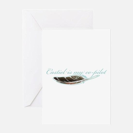 Angel Co-Pilot Greeting Card