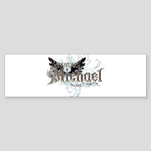 Archangel Michael Rides Again Bumper Sticker