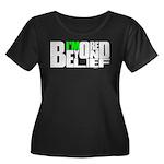 Bored Beyond Belief Women's Plus Size Scoop Neck D