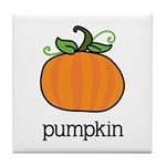 pumpkin Tile Coaster